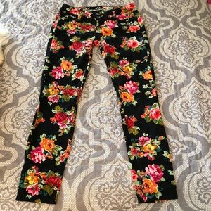 Vanilla Star Corduroy Flower Pants